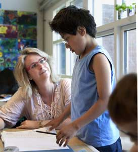 tid til at rette elev opgaver
